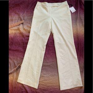 Calvin Klein Classic Fit Cream Dress Pants